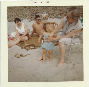 PIX_Geier_Karen Lalla Mom Dad at Hood Canal_July 1960