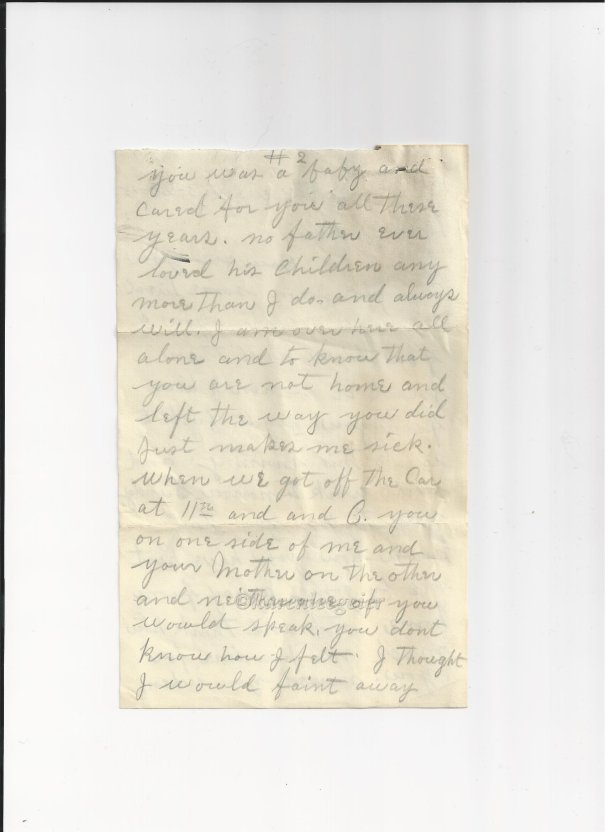 butterfield_letter to lalla_20 Mar 1915 (5)_page two of letter