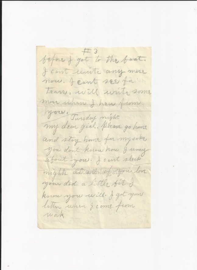 butterfield_letter to lalla_20 Mar 1915 (6)_page three of letter