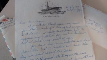 Navy letters_1953_carmody thanking grandma (2)
