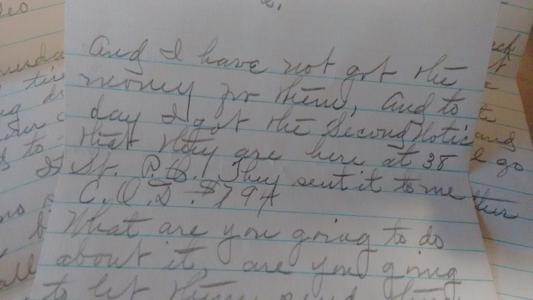 orahs letter july 3 1940