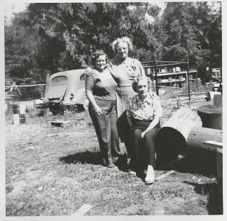 PIX_Butterfield_Bertha Lalla Hazel_probably Port Angeles_1950s