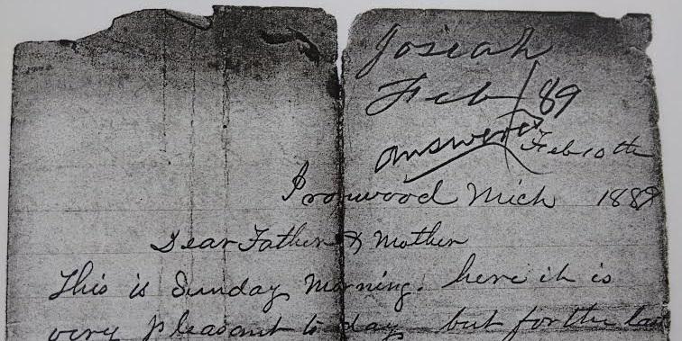 Letter #2: February 10,1889