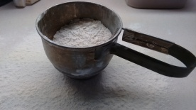 my mother's flour sifter