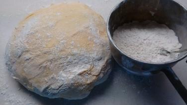 very soft dough