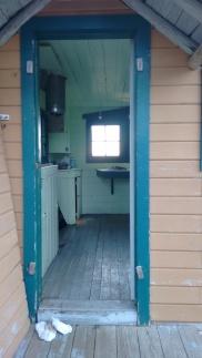 cabin at top