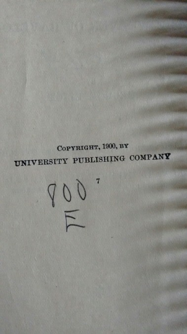 copyright 1900