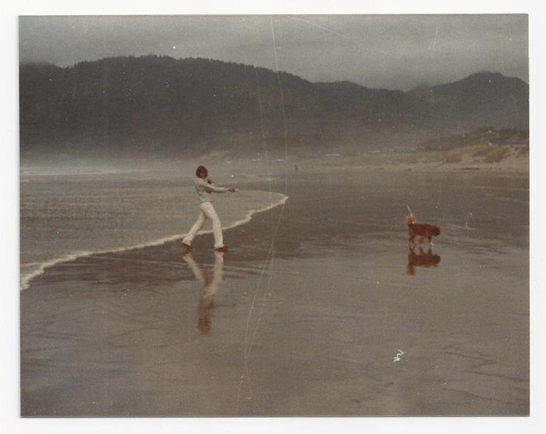 July 2015_Karen at Manzanita beach_1981
