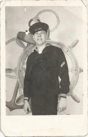 dad in Navy, 1951