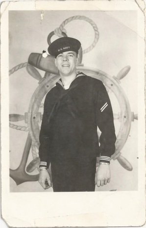 dad in Navy, 1951