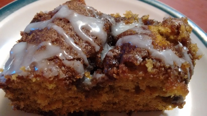 Cinnamon Pumpkin Coffee Cake, Just Because