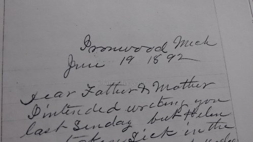 Smith letters_1892 june