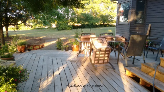new deck and remodel of garden