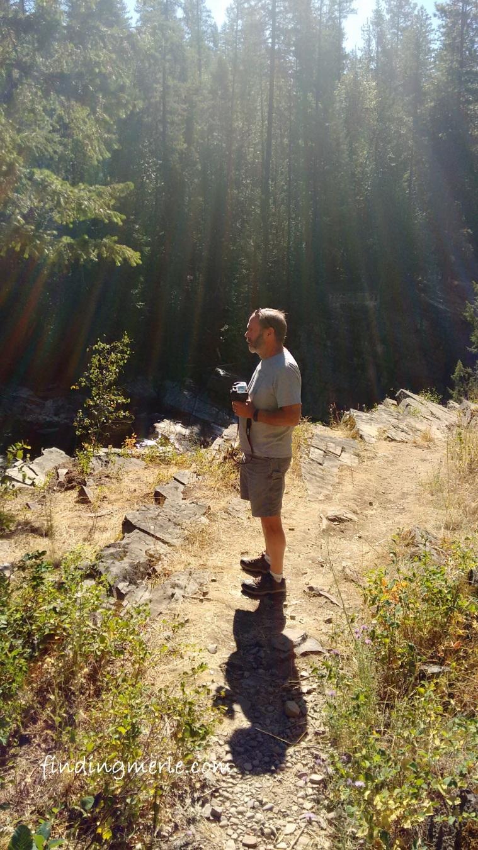 Bruce along the Yaak River Falls area