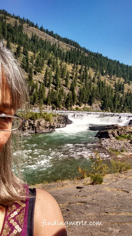 Kootenai River falls_Karen