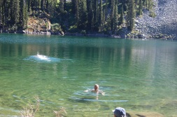 Mt Henry lake swim