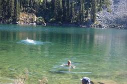 Mt Henry lake swim
