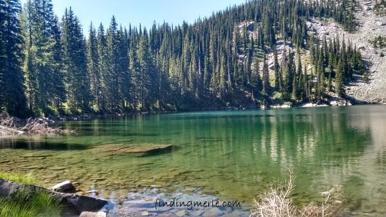 Mt Henry Lake_July 29