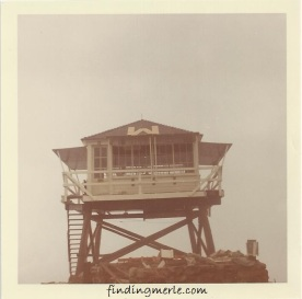 Mt Henry lookout in 1968