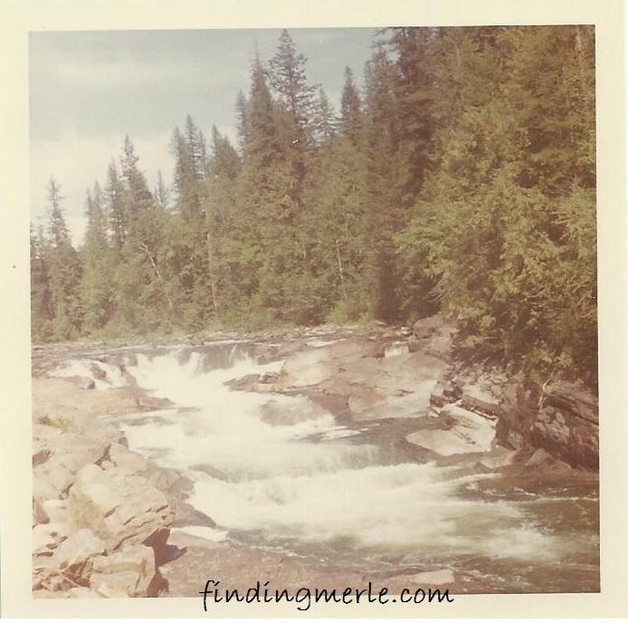 Yaak River falls_1969
