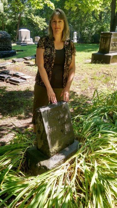 Headstone of Bertha Keane, Spokane